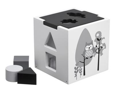 Kid's Concept Plocklåda Pumpkin svart