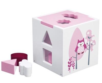 Kid's Concept Plocklåda Pumpkin rosa