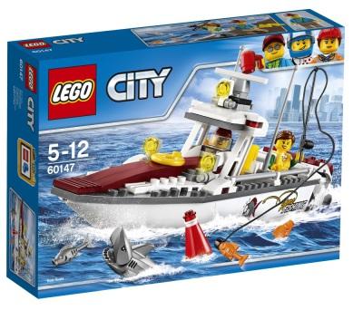 Lego City Fiskebåt