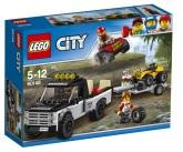 Lego City Fyrhjulingsracerteam