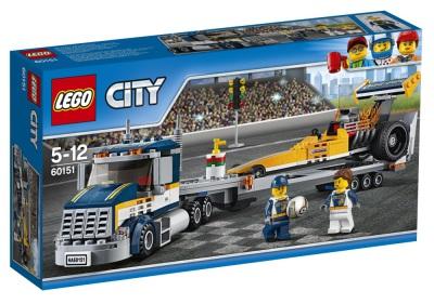 Lego City Dragstertransport