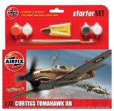 Airfix Curtiss Tomahawk IIB 1:72, Starter Set