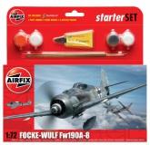 Airfix Focke Wulf 190A-8 1:72, Starter Set