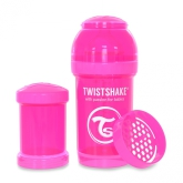 Twistshake Nappflaska Anti-Kolik-180ml, Rosa