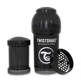 Twistshake Nappflaska Anti-Kolik-180ml, Svart