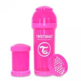 Twistshake Nappflaska Anti-Kolik-260ml, Rosa
