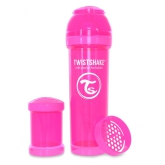 Twistshake Nappflaska Anti-Kolik-330ml, Rosa