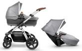 Silver Cross Wave barnvagn för 1 eller 2 barn, Sable