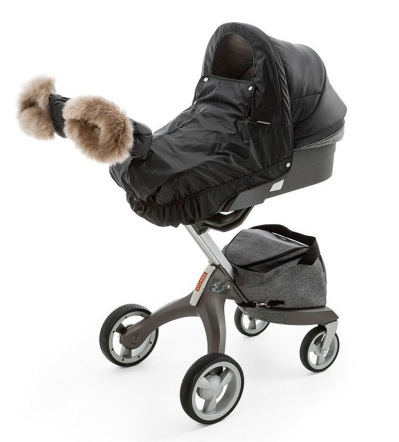 Stokke Xplory & Crusi Winter Kit, Black