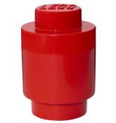 Lego Förvaring Rund 1, Röd