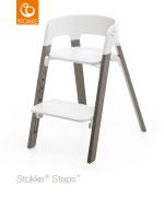 Stokke Steps Chair matstol, Hazy Grey