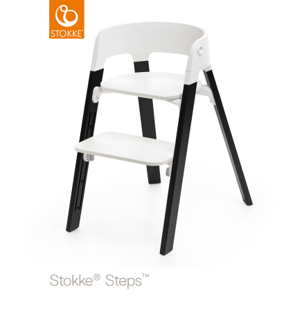 Stokke Steps Chair matstol, Oak Black