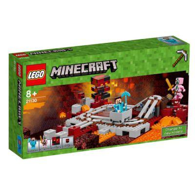 Lego Minecraft Järnvägen i The Nether