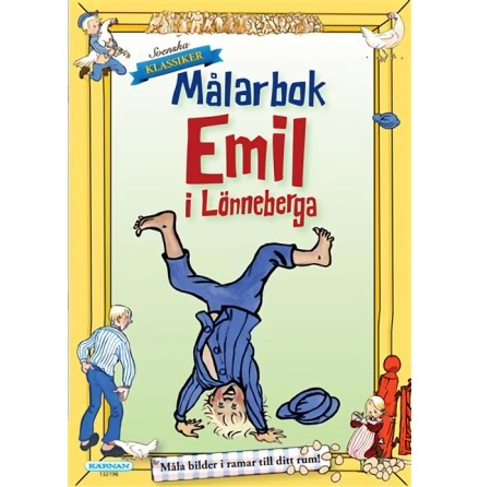 Målarbok Emil i Lönnerberga