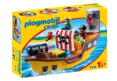 Playmobil 1.2.3 Piratskepp