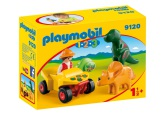 Playmobil 1.2.3 Upptäckare med dinosaurier