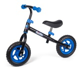 4-Kids Mini gå/spring cykel, Svart/Blå