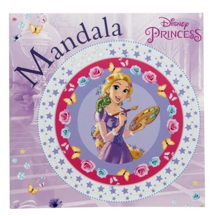 Disney Prinsessor Mandala Målarbok