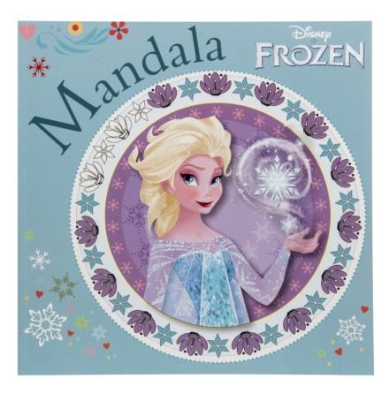 Disney Frost Mandala Målarbok