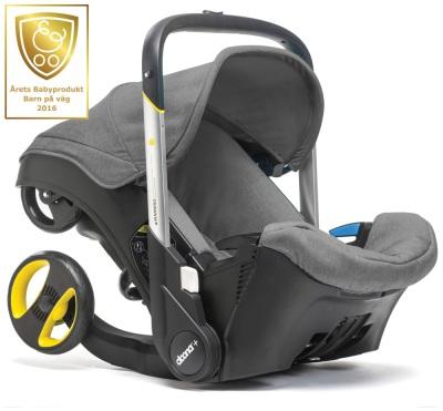 Doona+ Babyskydd, Grå