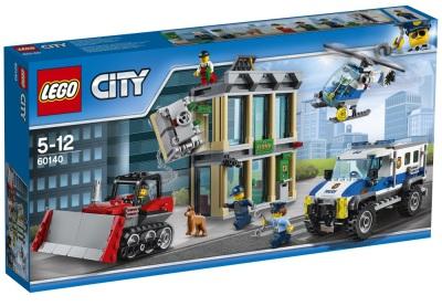 Lego City Inbrott med bulldozer