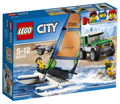 Lego City Terrängbil med katamaran