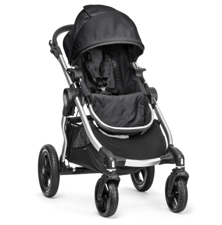 Baby Jogger City Select Onyx, Silver Frame