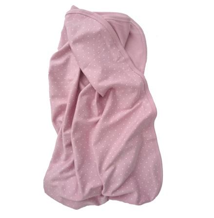 Summerville Trikåfilt Eko, Soft Pink Dotty
