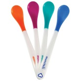Munchkin 4 White Hot Safety Spoons