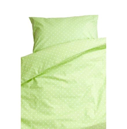 Prickig Bäddset för spjälsäng, Ljusgrön