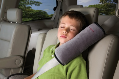 Diono Seat Belt Pillow, Grey