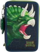 Dino World Trippelpennfodral