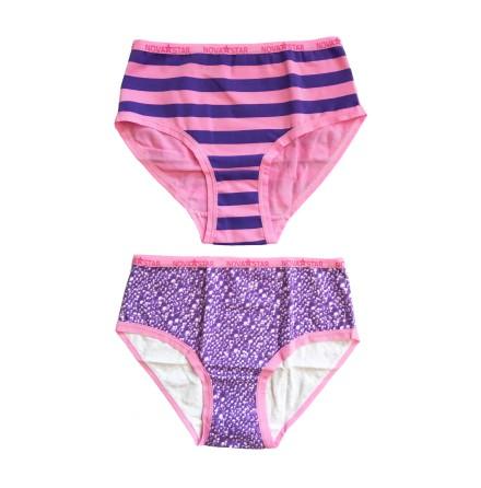 Nova Star Purple Girlie Briefs