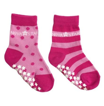 Nova Star Anti-Slip Pink Socks
