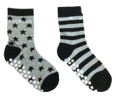 Nova Star Anti-Slip Grey Socks