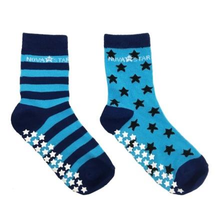 Nova Star Anti-Slip Blue Socks