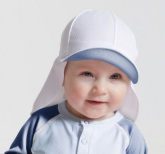 Sunseal Flap Hat UPF 50+, Ljusblå/Aqua