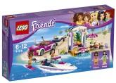 Lego Friends Andreas transportbil för racerbåtar