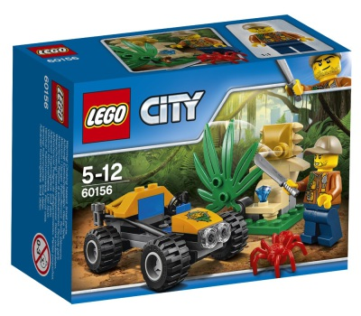 Lego City Djungel - buggy