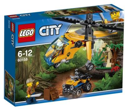 Lego City Djungel - transporthelikopter