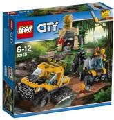 Lego City Djungel - uppdrag med halvbandvagn