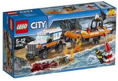Lego City Fyrhjulsdrivet utryckningsfordon 60165