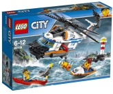 Lego City Tung räddningshelikopter