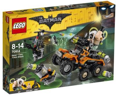 Lego Batman Movie Bane Attack med giftbilen