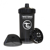 Twistshake Sportflaska Kid Cup 360ml 12m+, Svart