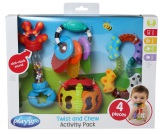 Playgro Twist and Chew Activity Pack
