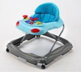 BabyTrold Gåstol, Grå/Ljusblå