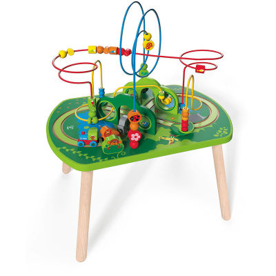Hape Jungle Play & Train Activity Table