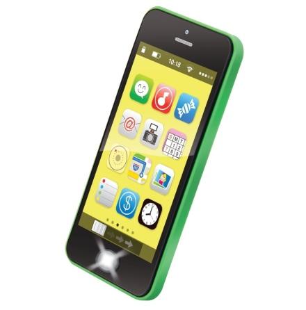 Bieco Smartphone med ljus, musik och ljud, Grön