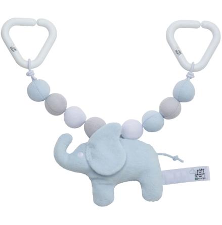 Rätt Start Vagnsleksak med kulor Elefant, Blå